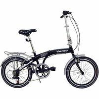 Kettler Bikes Kettler Verso Cologne Folding Bike, Gloss Black