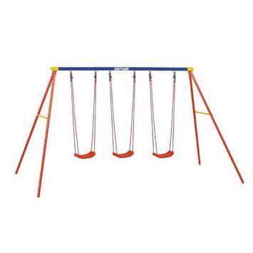 Kettler Multi Play Swing Set With 3 Board Swings