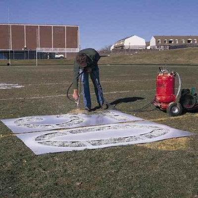 NEWSTRIPE FBSTEN05 Polytough Athletic Field Stencils
