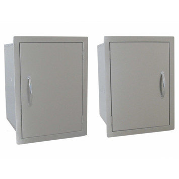 Sunstone Grills Vertical Dry Storage with Shelf