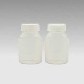 Ameda 17253 Milk Collection Bottles Translucent 2 pk