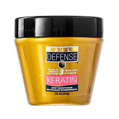 DAILY DEFENSE - 3 Minute Leave In Treatment Deep Conditioner (Keratin) 147ml/5oz