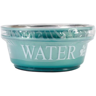 Buddy's Line Food & Water Set Small 1pt-Teal