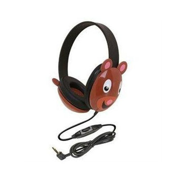 Ergoguys Kids Stereo PC Bear Design Headphone