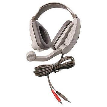 Califone Stereo Headphone W/ 3.5mm Plug, Mic, Via Ergoguys