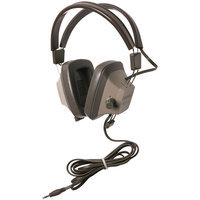 Califone Headset W/3.5mm Plug, Replaceable Cord Via Ergoguys