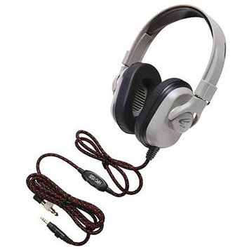 Ergoguys Califone Titanium Headphone with Guaranteed for Life Cord - Stereo - Mini-phone - Wired - 50 Ohm - 20 Hz 20 kHz - Over-the-head - Binaural - Ear-cup - 6 ft Cable