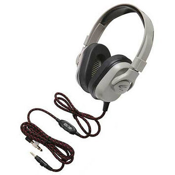 Ergoguys Califone Washable Titanium Headphone with Guaranteed for Life Cord - Stereo - Mini-phone - Wired - 50 Ohm - 20 Hz 20 kHz - Over-the-head - Binaural - Ear-cup - 6 ft Cable