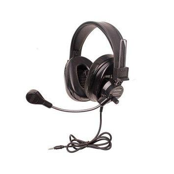 Califone International, Inc. Califone Deluxe Multimedia Stereo Headsets w/Mic and To Go Plug Via E