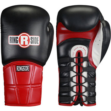 Ringside Safety Sparring Lace-Up Boxing Gloves