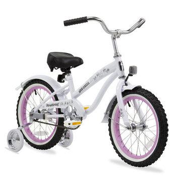 Firmstrong Girls' Bella Single-Speed Bike with Training Wheels