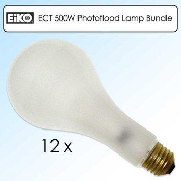 Eiko Photoflood Bulb - Frosted - 120 V AC - E26 - 12