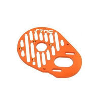 ST Racing Concepts STH103374O Finned Aluminum Motor Mount for The HPI Blitz and E-Firestorm, Orange STRC4022 ST RACING C
