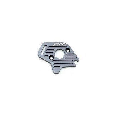 ST Racing Concepts ST6890GM Aluminum Heatsink Finned Motor Plate for Slash 4 x 4 (Gun Metal) STRC0242 ST RACING CONCEPTS