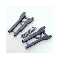 ST Racing Concepts ST2555GM Machined Aluminum Rear A-Arms for Slash (Gunmetal) STRC0101 ST RACING CONCEPTS