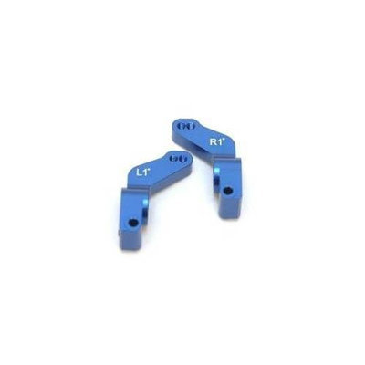 ST Racing Concepts ST3652-T1B Aluminum 1-Degree Toe-In Rear Hub Carriers (Blue) STRC0133 ST RACING CONCEPTS