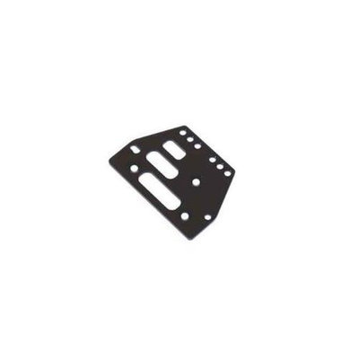 ST Racing Concepts STA30485BK Aluminum Front or Rear Adjustable 4 Link Servo Plate for The Axial AX Multi-Colored