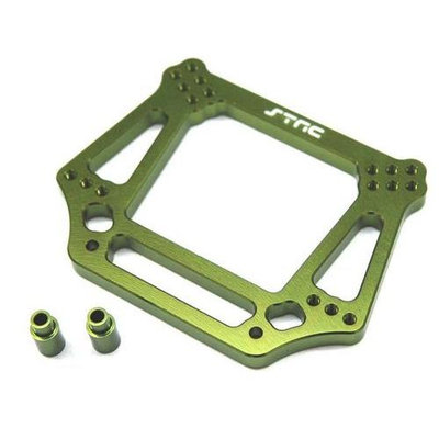 ST Racing Concepts ST3639G 6mm Had Front Shock Tower for Stampede, Rustler, Slash and Bandit (Green STRC0158