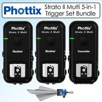 Phottix PH15655 Strato II Multi 5-in-1 Remote Flash Trigger Set Kit