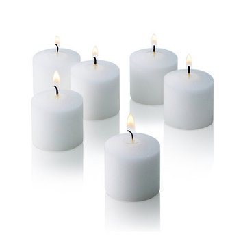 Light Technology Pub Light In the Dark Unscented Votive Candles (Set of 12)