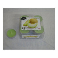 Light In the Dark Melon Tealight Candles (Set of 15)