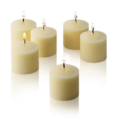 Light Technology Pub New Elegant Unscented Votive Candles (Set of 72)