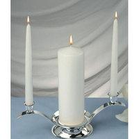 Light Technology Pub Light In the Dark Elegant Unity Candles (Set of 3)