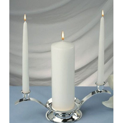 Light Technology Pub Light In the Dark Elegant Unity Candles (Set of 3)