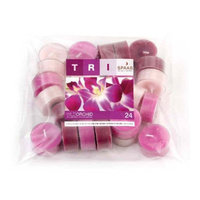 Light In the Dark Wild Orchid Scented Tealight Candles (Set of 24)