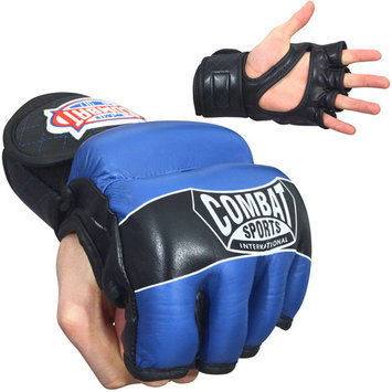 Combat Sports MMA Hybrid Leather Fight Gloves