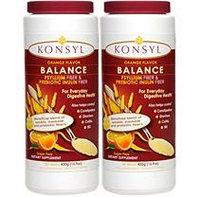Konsyl Psyllium Fiber and Prebiotic Inulin Fiber, 300 g/ 2 pk