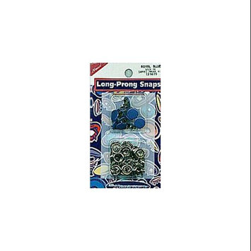 Snap Source Capped Long-Prong Snaps Size 16 10/Pkg-Royal Blue