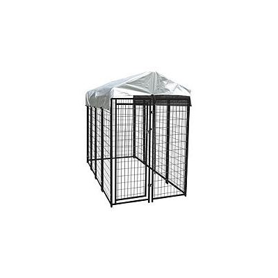 Lucky Dog Uptown Wire Kennel (With Cover)- 8'L x 4'W x 6'H