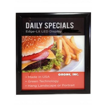 Gagne 1824-SF 18 in. x 24 in. LED lit Snap Frame Display Sign