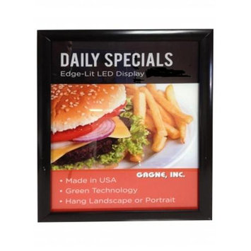 Gagne 2228-SF 22 in. x 28 in. LED lit Snap Frame Display Sign