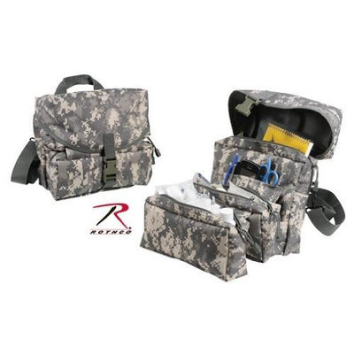 Medical Kit Bag - MOLLE Compatible, ACU Digital Camo by Rothco