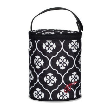 Jj Cole Collections JJ Cole Black Floret Double Bottle Tote