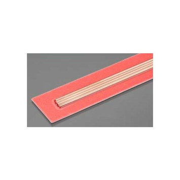 K & S Engineering 9870 Round Copper Tube 2mm OD x .36mm Wall (4) Multi-Colored