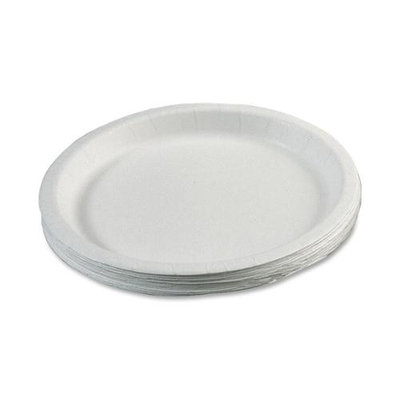 Paper Plates, 9in, 3/4in. Deep, Box Of 1,000 (AbilityOne 7350-00-899-3056)