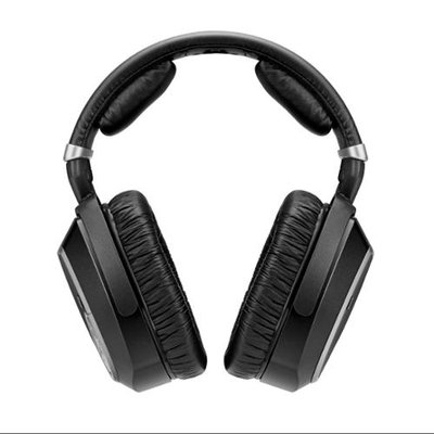 Sennheiser - Over-the-ear Wireless Headphone System - Black