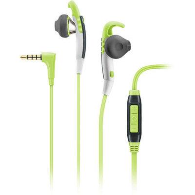 Sennheiser - Sport Ear-hook Earbud Headphones - Green/white/gray