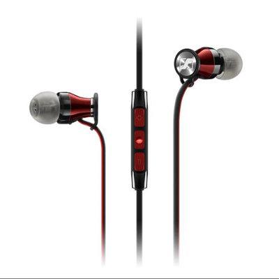 Sennheiser Momentum In-Ear Headphones-iOS Model-Red