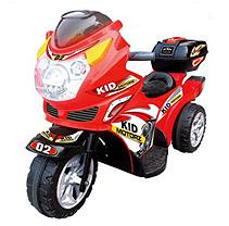 Kid Motorz 6V Motorbike in Red