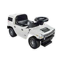 Kid Motorz Hummer H2 Foot to Floor in White