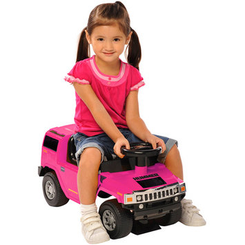 National Products 0463 Hummer H2 Foot To Floor In Pink
