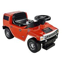Kid Motorz Hummer H2 Foot to Floor in Red