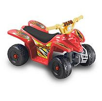tional Products Ltd. Kid Motorz Quad Cruiser In Red