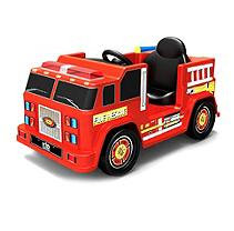 tional Products Ltd. National Products 6V Fire Engine Ride-On