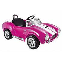 Kid Motorz 6V Shelby Cobra One Seater in Pink