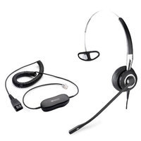 Jabra BIZ2400 Mono With GN1200 Cable Noise Canceling Headset 3-in-1 Wearing Styles